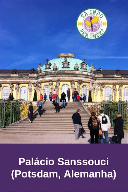 Parque e Palácio Sanssouci, Potsdam (Alemanha)