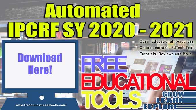 Automated IPRCF SY 2020-2021 [FREE DOWNLOAD]