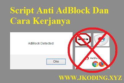 Script Anti AdBlock Dan Cara Kerjanya