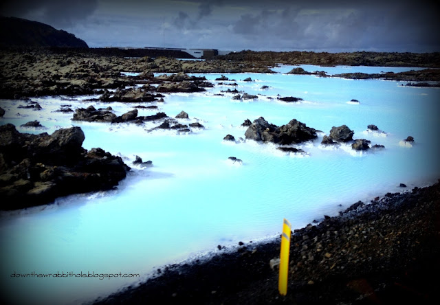 Iceland Blue Lagoon, color of the Blue Lagoon in Iceland