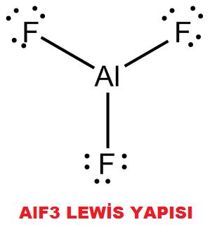 AlF3 Lewis Yapısı