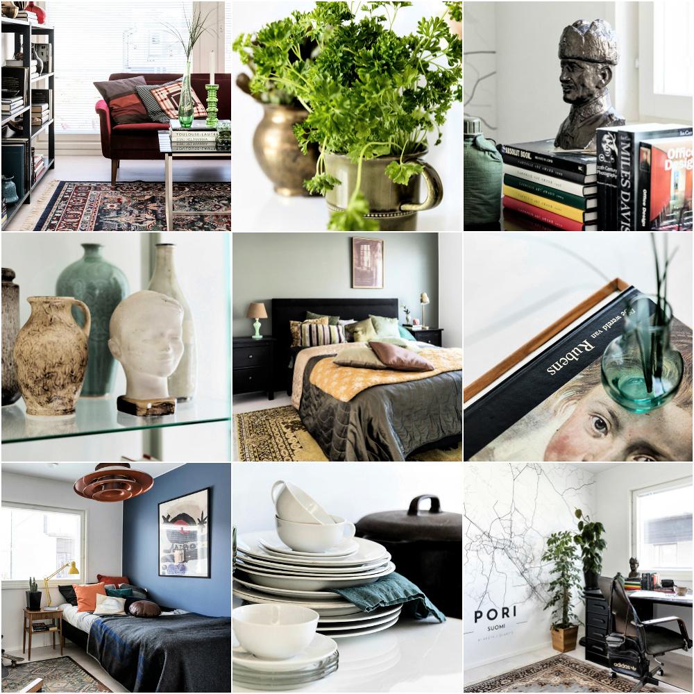 Villa Karhu, Visualaddict, Asuntomessut, Pori, Spr, Kontti, Frida Steiner, valokuvaaja, sisustussuunnittelija, sisustaminen, kierrätystavarat, kierrätys, sisustus