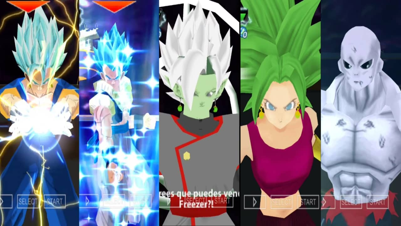 Super Dragon Ball Heroes Fusion DBZ TTT Mod