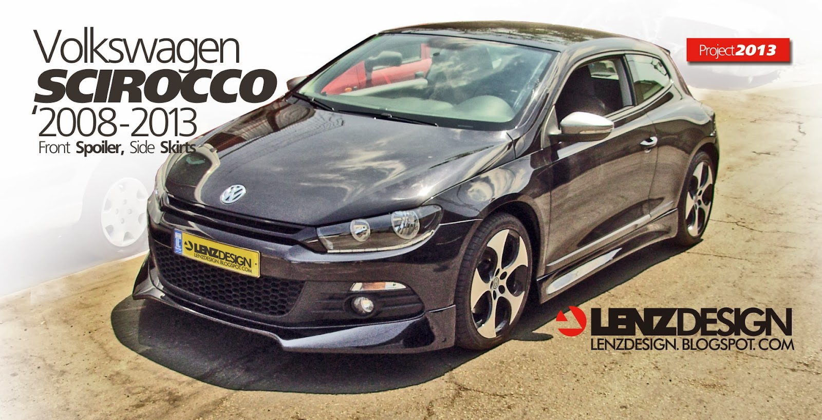 Vw Scirocco Bodykit Lenzdesign 2008 2014