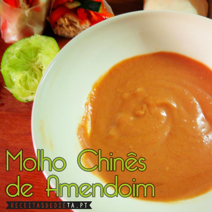 Molho Chinês de Amendoim