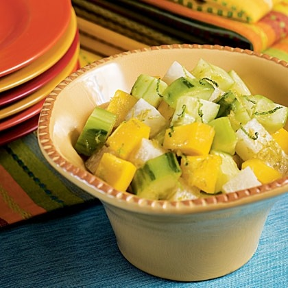 Mango, Jicama and Cucumber Salad Recipe