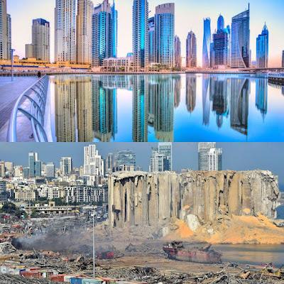 """بيروت """"سويسرا الشرق"""" لم تعد كذلك اليوم وكان لا بد أن تسرق دبي منها هذا اللقب"""