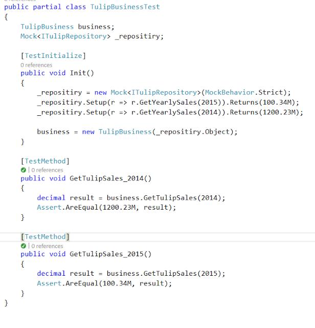 Developer Points: C# Unit Testing - Dependency Injection , Moq