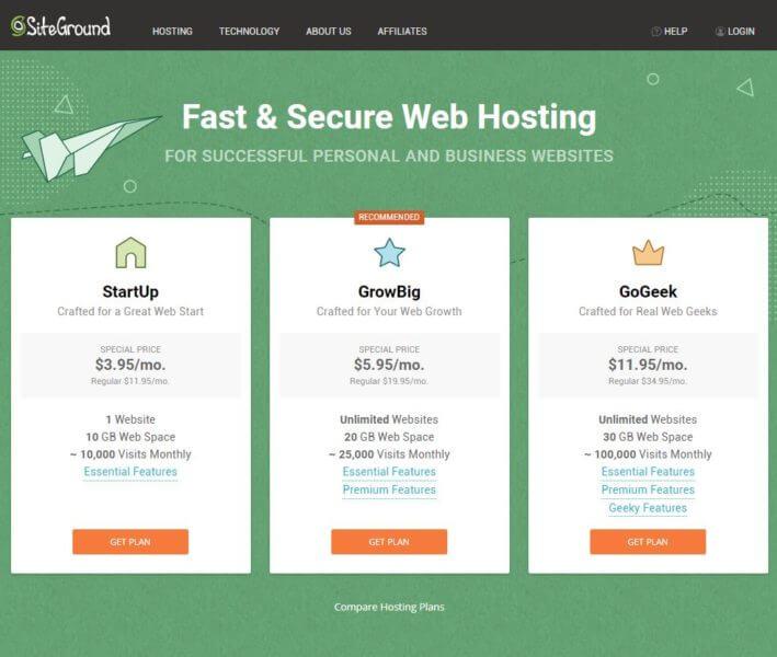 تقييمي لأفضل 3 شركات استضافة hosting  سلبيات وايجابيات