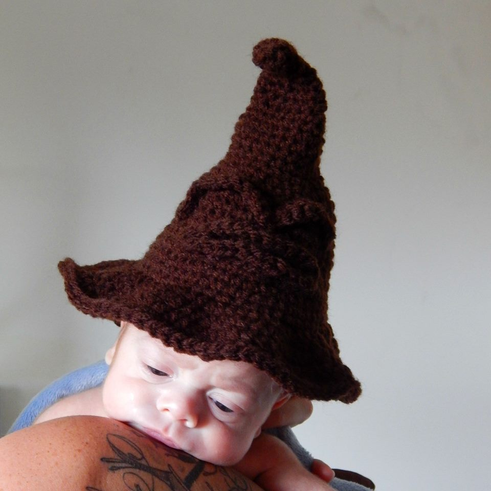 Amidorable Crochet: Newborn Sorting Hat Pattern