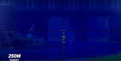 Fortnite BR, Sniper Rifles Guide, Shoot Long Distance, 250 Meter Target