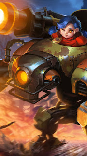 Jawhead Steel Sweetheart Heroes Fighter of Skins V1