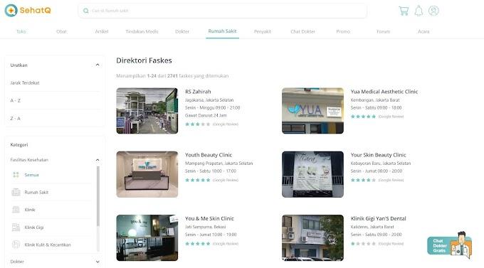 SehatQ.com Kembangkan Aplikasi Kesehatan untuk Memudahkan Masyarakat