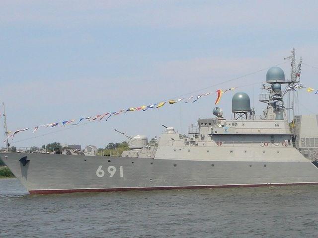 Tàu hộ vệ Tatarstan, một tàu quân sự ít được biết đến nhưng rất lợi hại của Nga