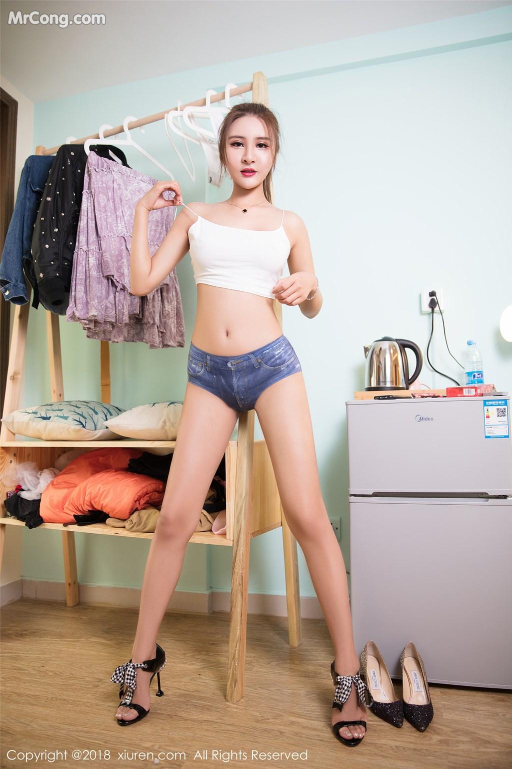 Image XIUREN-No.980-SOLO-MrCong.com-003 in post XIUREN No.980: Người mẫu SOLO-尹菲 (51 ảnh)