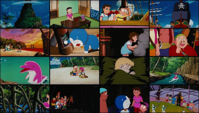 Doraemon The Movie Nobita's Great Adventure in the South Seas Full Movie In HINDI HD [1080p - 720p] Free Download
