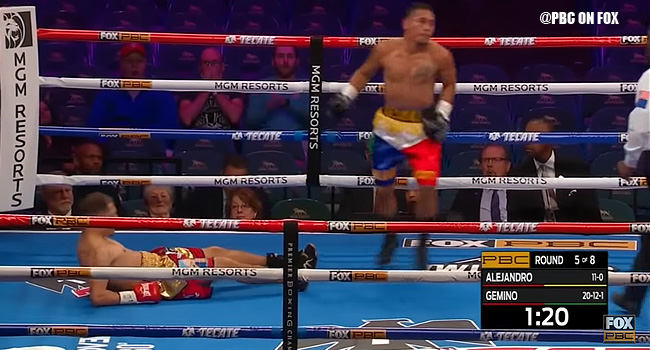 Filipino Boxer Jhon Gemino BRUTAL Knockout of Previously Unbeaten Arnold Alejandro (VIDEO)