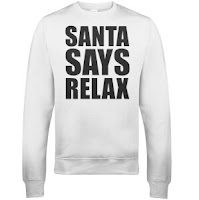 Christmas Jumper - Santa says relax