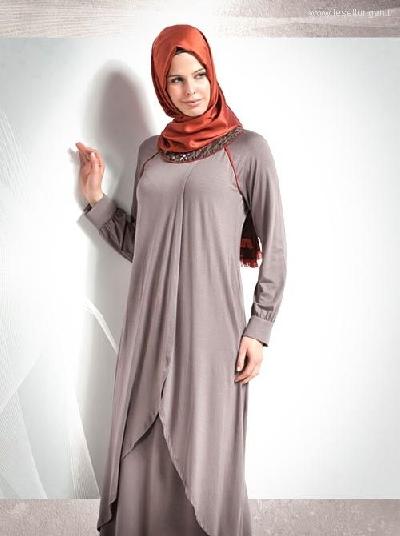 Seden Giyim 2013 Tesettür Elbise Stilleri
