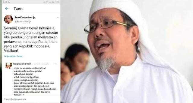 Ustadz Tengku Zulkarnain Difitnah Akun Hoaks, Kapolri Ditegur: Apa Anda Tidak Bisa Tangkap Bandit Ini?