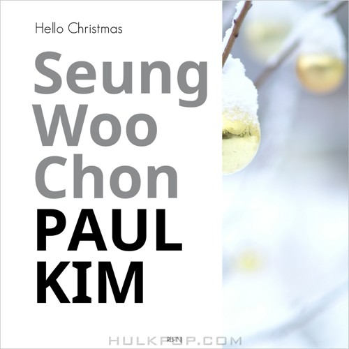 Chon Seung Woon – Seung Woo Chon & PAUL KIM for Christmas – Music Gallery 012 – Single