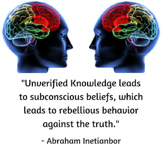 subconscious belief and knowledge