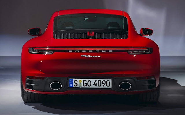 Porsche 911 Carrera 2020 - Price