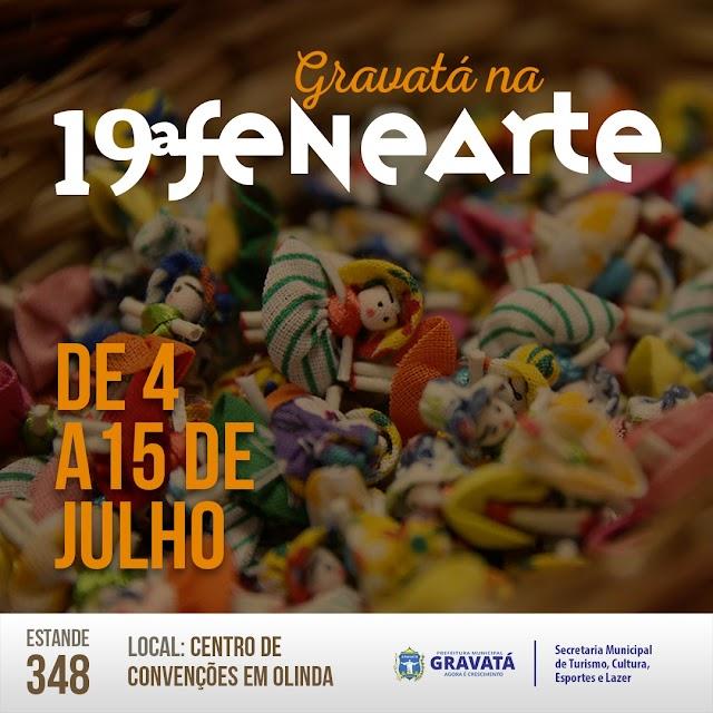 Gravatá participa da 19ª Fenearte