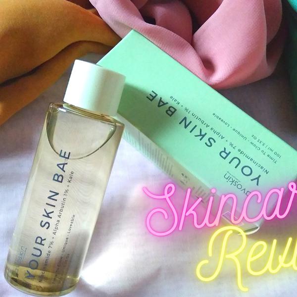 Review Skincare: Avoskin Your Skin Bae Toner