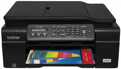 No PC required to send and receive documents Brother MFC-J245 Printer Driver Downloads