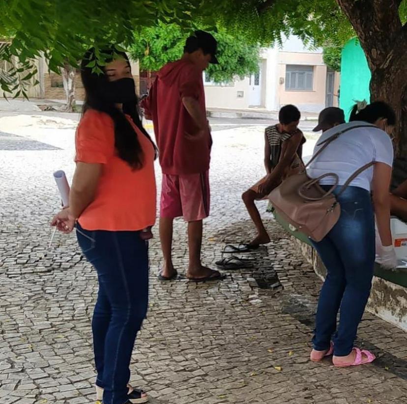 Prefeitura de Aurora realiza abordagem social para identificar e acolher pessoas em situação de rua