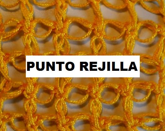 Punto de Rejilla en Crochet Tutorial
