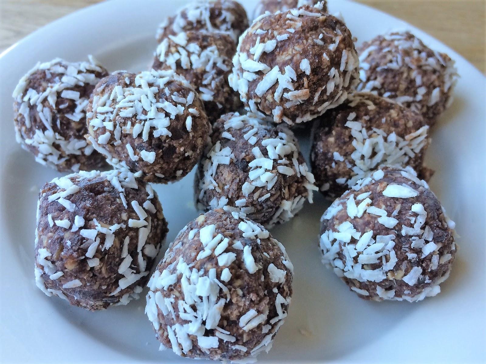 chokladbollar med kokosfett