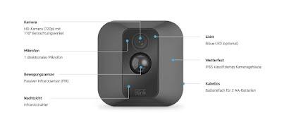 كاميرا مراقبة Blink XT2 Home Security