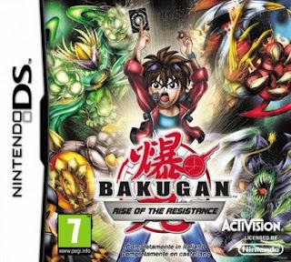Bakugan: Rise of the Resistance, NDS, Español, Mega, Mediafire