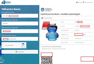TERBARU! 2 Cara Cek Pencarian Data NISN Siswa Secara Online di Kemdikbud