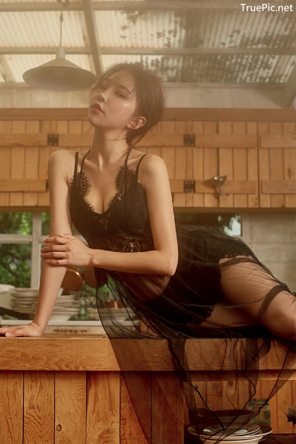 Image-Park-Soo-Yeon-Black-Red-and-White-Lingerie-Korean-Model-Fashion-TruePic.net- Picture-9