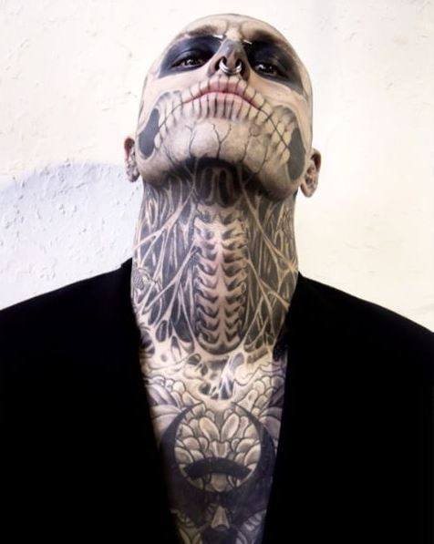 Neck And Jaw Tattoo: 35 Female Full Body Tattoos Gallery (2018)