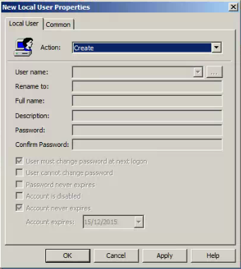 Group Policy Preferences - Local Users and Groups password