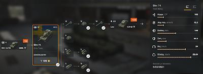 Strv 74 Orta Tank