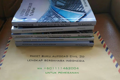 Buku Tutorial civil 3D lengkap berbahasa indonesia