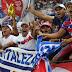 Festa do Fortaleza: Torcida aclama 'Fica, Rogério!'