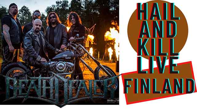 """Death Dealer - """"Hail and kill"""" (live Finland)"""