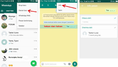 Cara Mengetahui Siapa Saja Yang Simpan Nomor HP Kita di Whatsapp