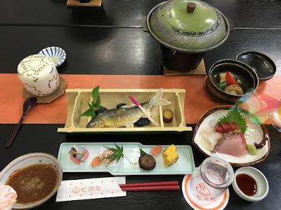 七沢荘の夕食