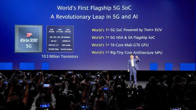 Kirin 990, kirin 990 5G, new CPU, new Chip, Huawei, ອັບເດດເລື່ອງໄອທີ,  ອັບເດດໄອທີ,ຂ່າວໄອທີ, ຂ່າວສານເລື່ອງໄອທີ, ສາລະໄອທີ, ສາລະເລື່ອງໄອທີ, ເປີດໂຕ, it-news, spvmedia