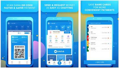 Aplikasi Uang Elektronik - DANA