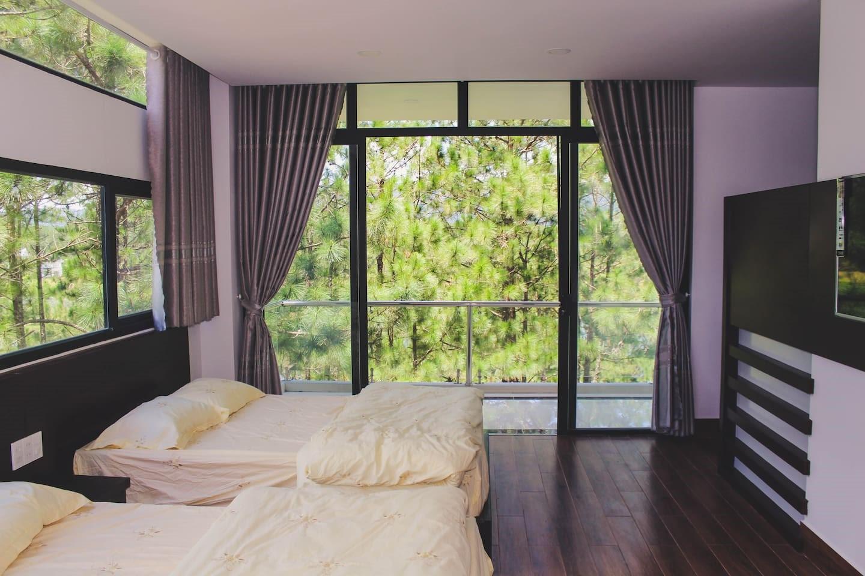 5 homestay Đà Lạt gần hồ Tuyền Lâm view đẹp, không gian cực lãng mạn