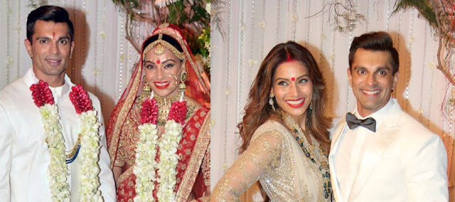 Bipasha Basu, Karan Singh Grover's wedding reception