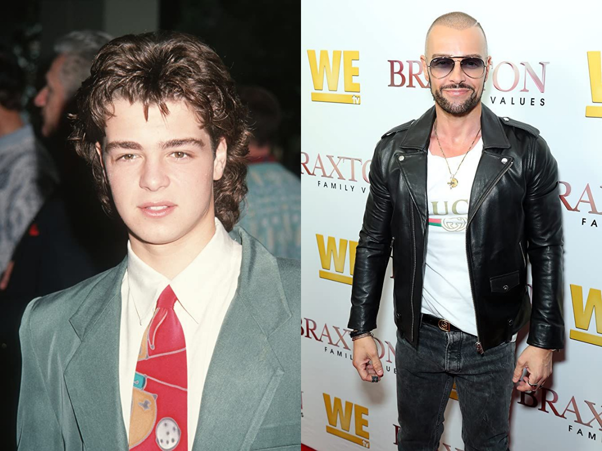 Joey Lawrence then and now